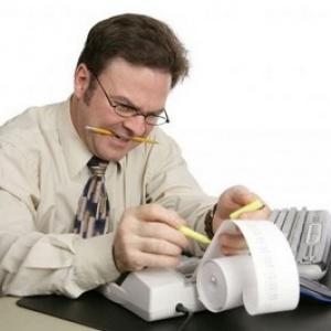 Функционал бухгалтера-кассира