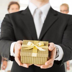 Подарок в натуральной форме