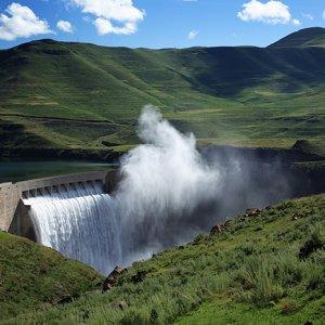 Водная электростанция