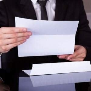 Составление служебной записки