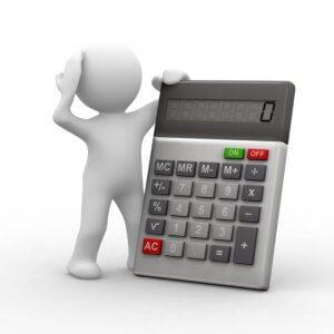 Расчет частичной уплаты