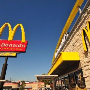 Логотип Макдональдса