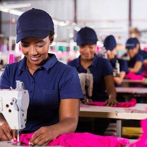Открытие швейной фабрики