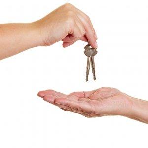 Акт о передаче ключей от помещения образец