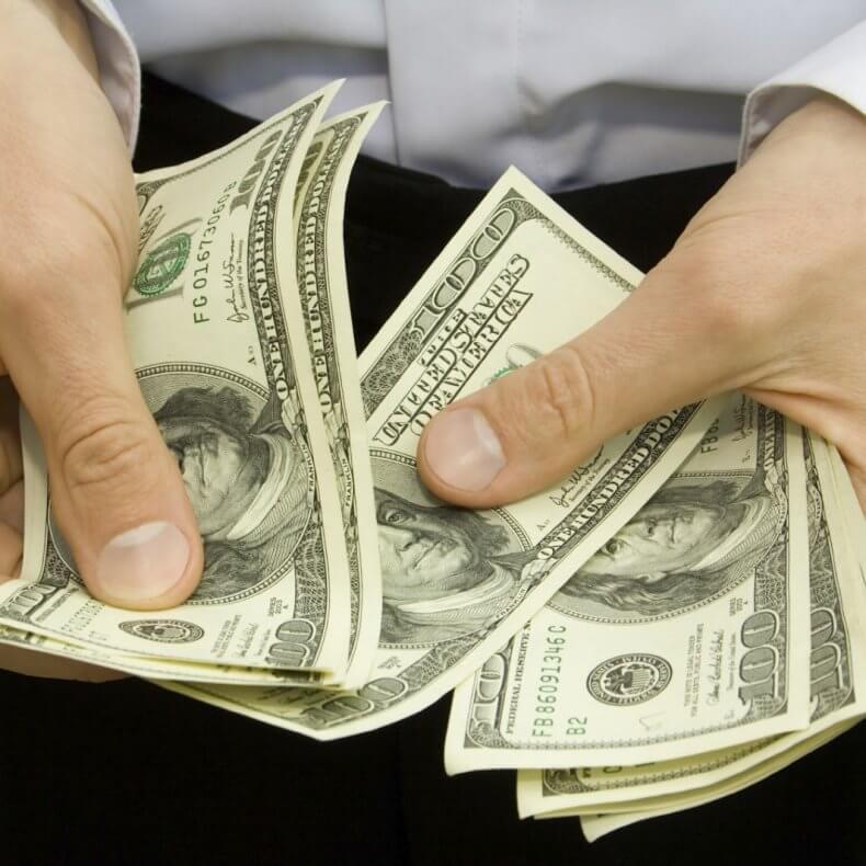 Размер предоплаты