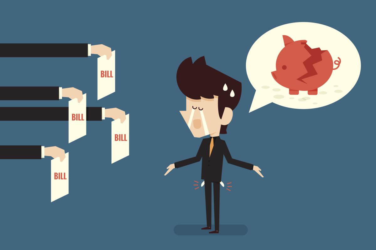 Неоплаченная задолженность