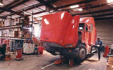 Ремонтный сервис грузовиков
