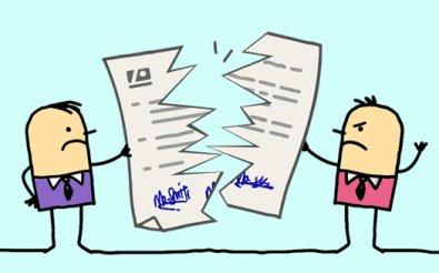 Расторжение договора субаренды