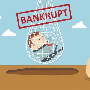 Если лицо банкрот