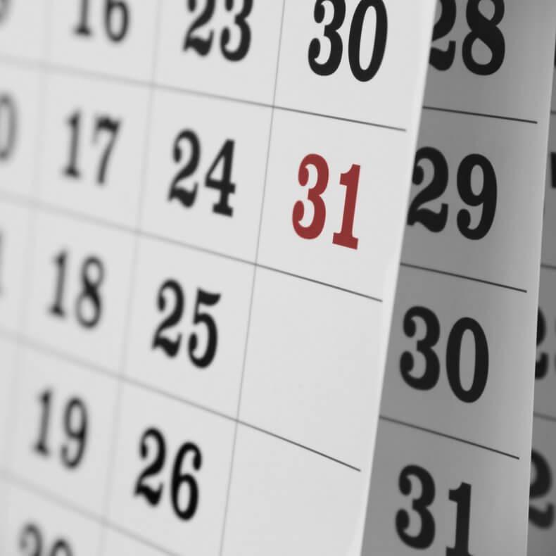 Положенная дата оплаты