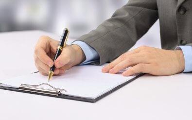 Составление служебной записки от руки