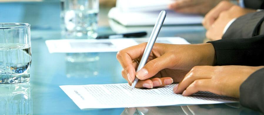Подписание договора мены
