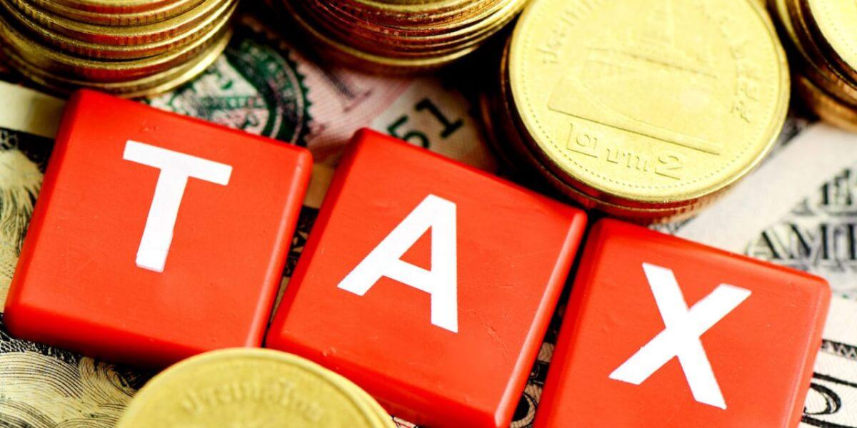 Отражение суммы налога