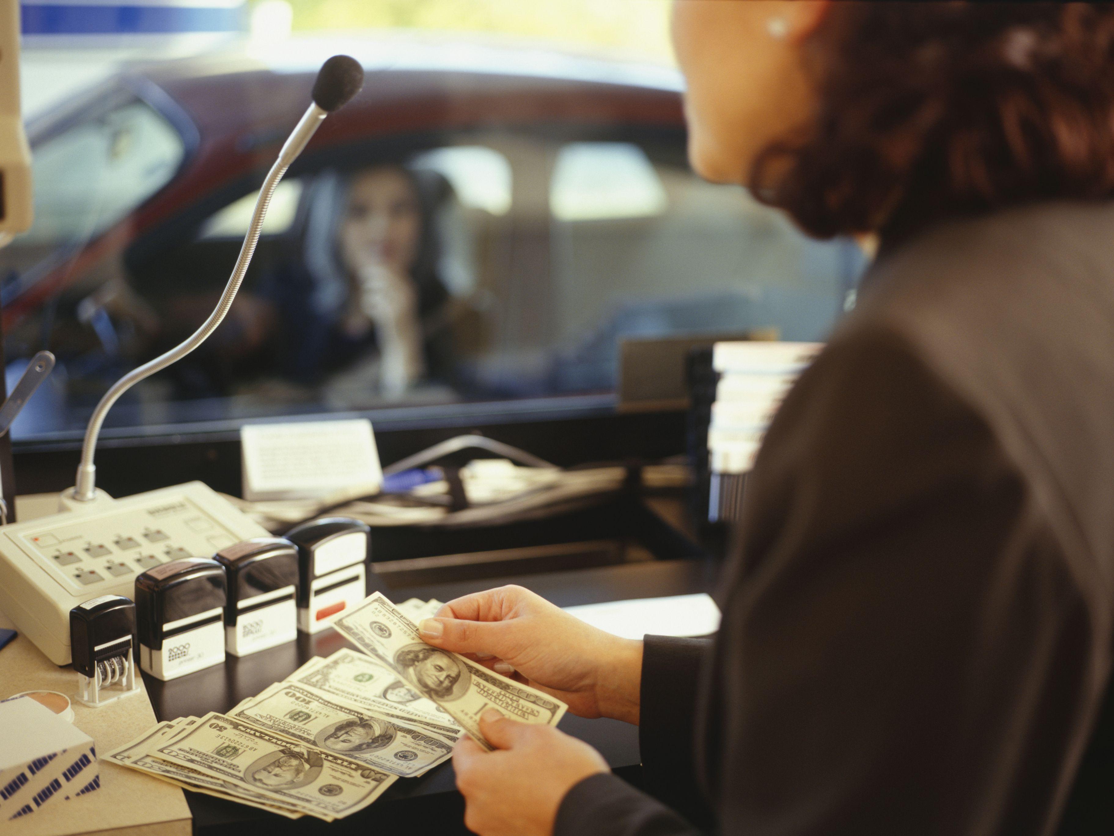 Обналичивание в банке