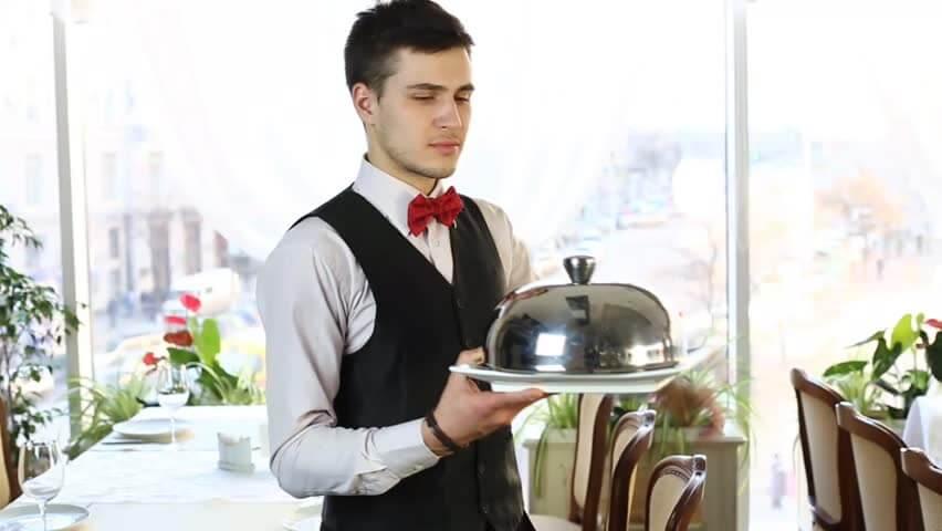 Высокий профессионализм официанта