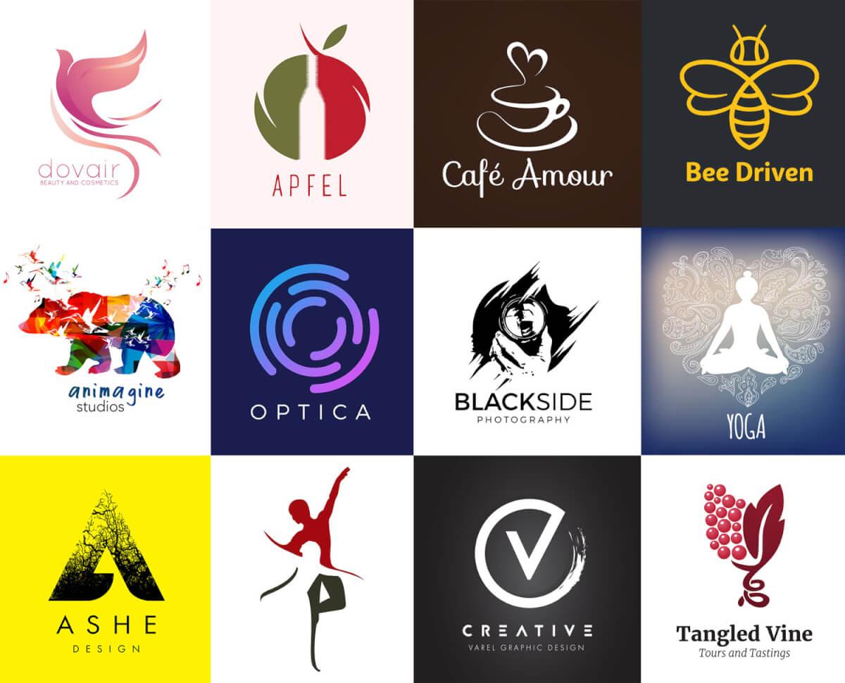 Необычные логотипы