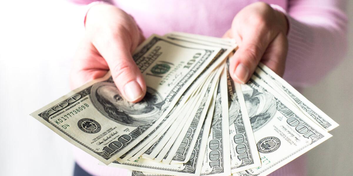 Передача денежных средств
