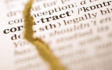 Методы расторжения договора
