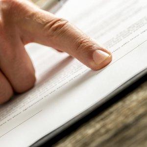 Подписание бланков