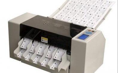 Машина для нарезки визитных карточек