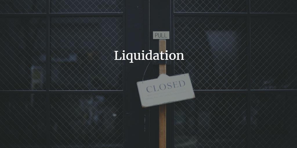 Правила ликвидации
