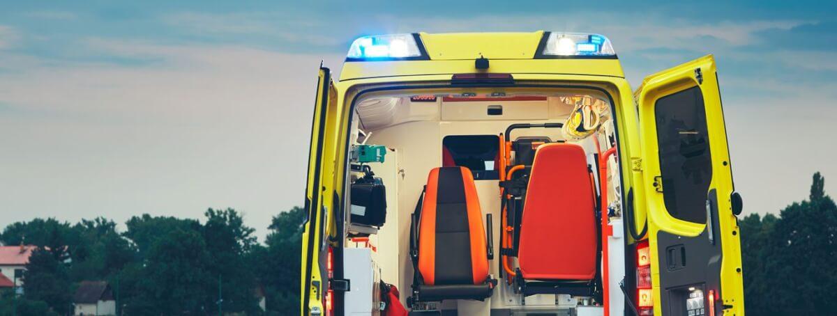 Вызов скорой помощи на место происшествия