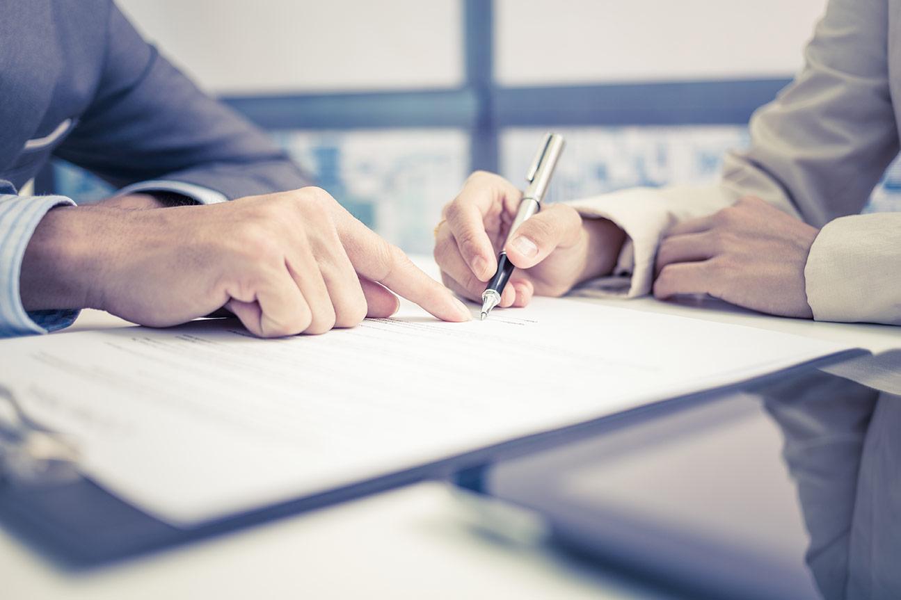 Составление договора и спецификации
