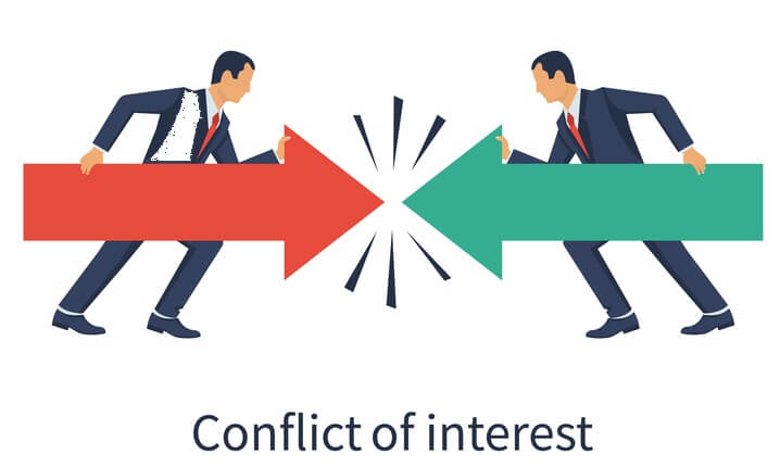 Конфликты интересов сторон