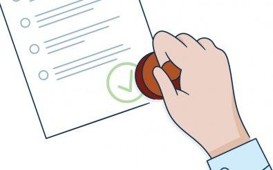 Одобрение лицензии