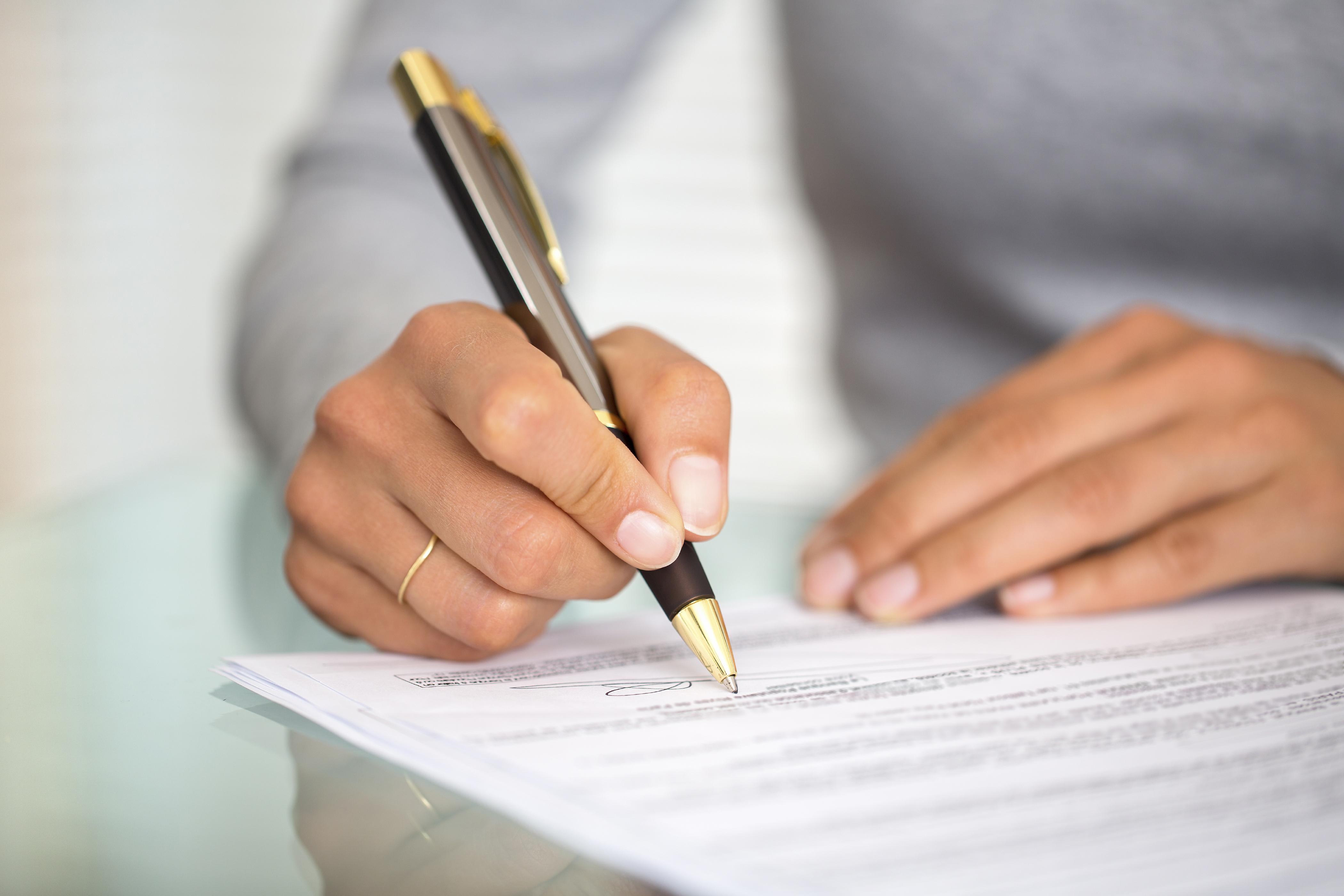 Регулярное подписание документов