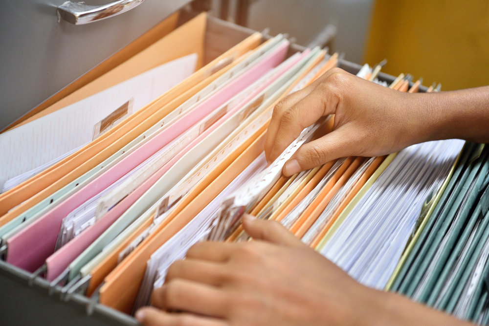 Неверное хранение документов