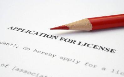 Заявление на получение лицензии