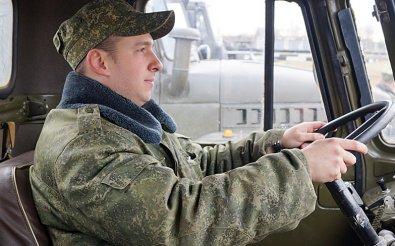 Водитель-электрик в армии