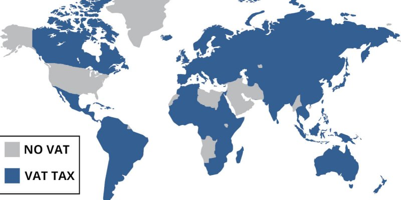 Какой уровень НДС в разных странах, а также его значения