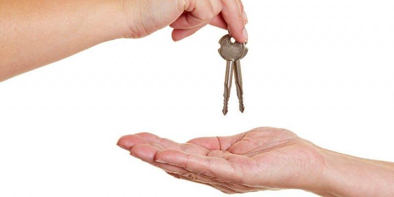 Формирование акта передачи ключей от помещения по образцу
