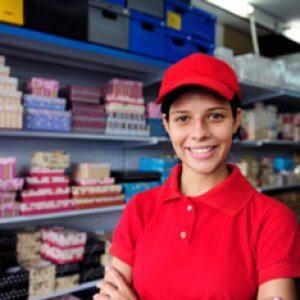 Работа в супермаркете