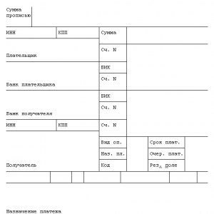Что писать в графе «Назначение платежа»? Стандартные нормы перечисления денежных средств