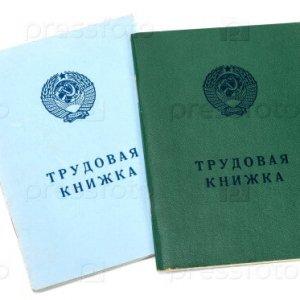Образец заполнения трудовой книжки: титульный лист, важные рекомендации
