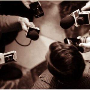 Общение с журналистами