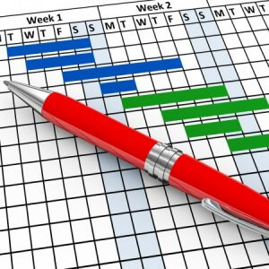 Календарный план реализации проекта: пример, технология, документы
