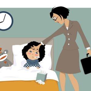 Больничный по болезни ребенка