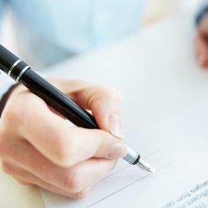 Составление и подписание документа