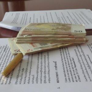 Договор на большую сумму денег