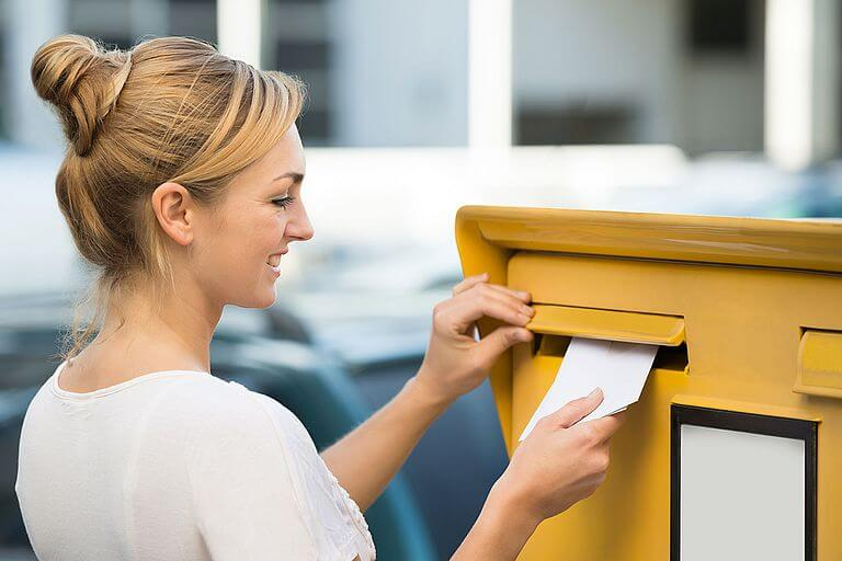 Отправка трудовой по почте