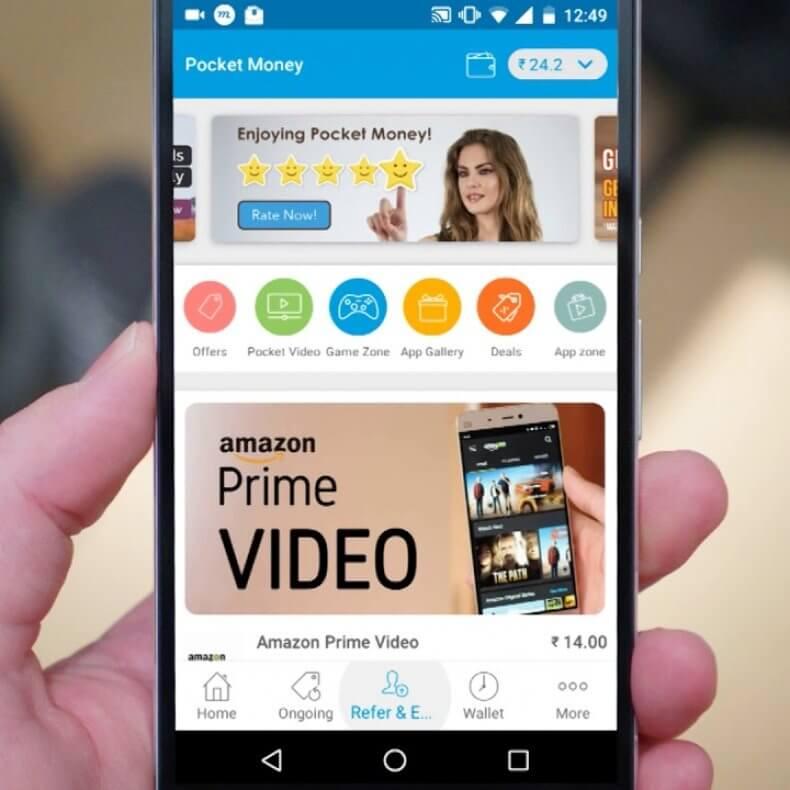 Видео на андроид с выводом денег