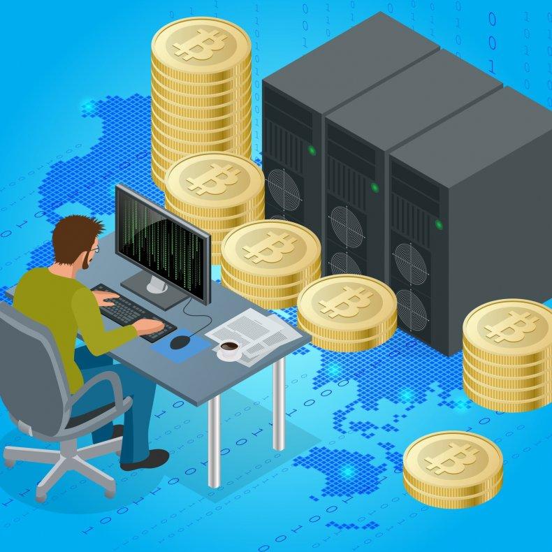 Заработать биткоины на компьютере
