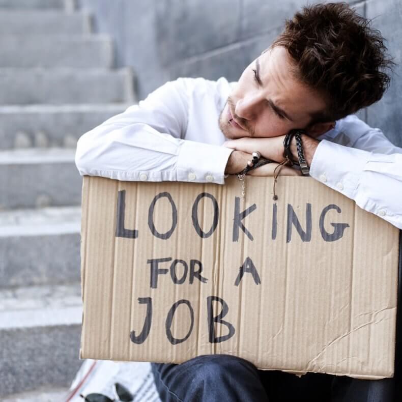 Безработный в поиске