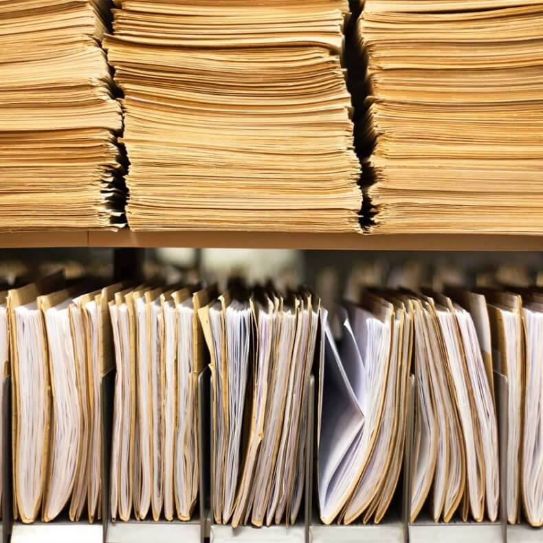 Хранение налоговых документов
