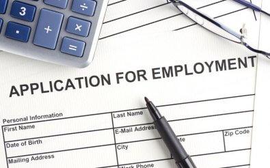 Форма анкеты для трудоустройства