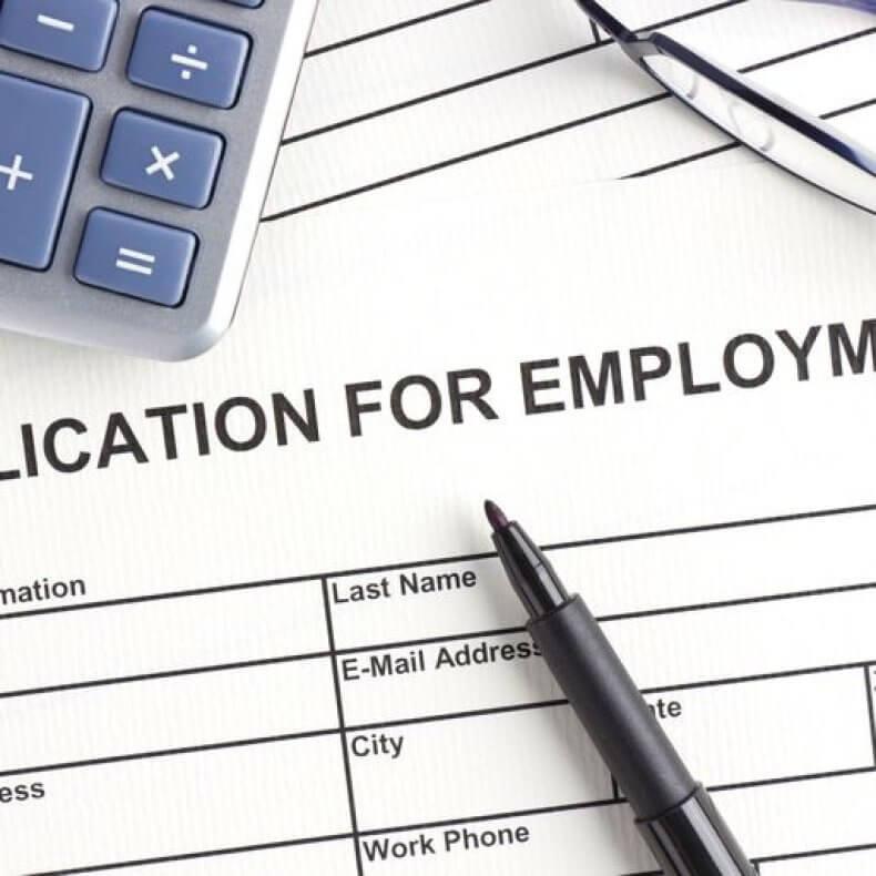 Бланки анкет при приеме на работу